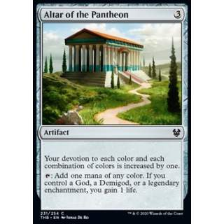 Altar of the Pantheon - FOIL