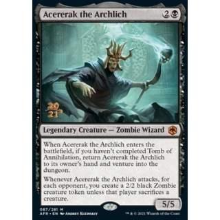 Acererak the Archlich (V.1) - PROMO FOIL