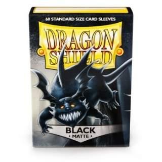 Koszulki Dragon Shield - 60 sztuk - Pro-Matte - Black