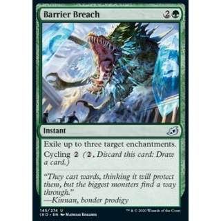 Barrier Breach - FOIL