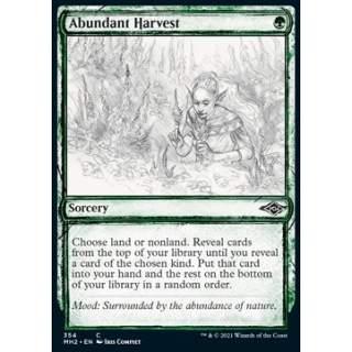 Abundant Harvest - PROMO FOIL