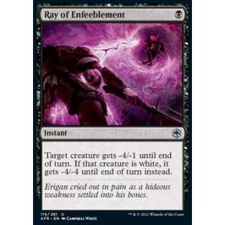 Ray of Enfeeblement - FOIL