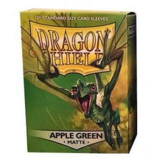 Koszulki Dragon Shield - 100 sztuk - Matte - Apple Green