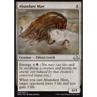 Abundant Maw
