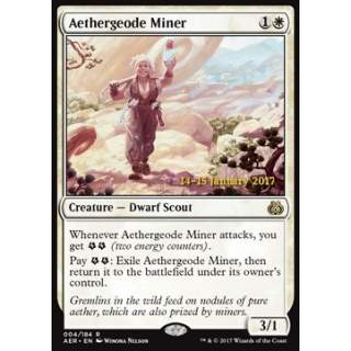 Aethergeode Miner - PROMO FOIL