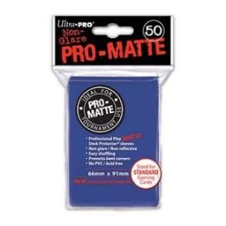 Koszulki Ultra Pro - 50 sztuk - Pro-Matte - Blue