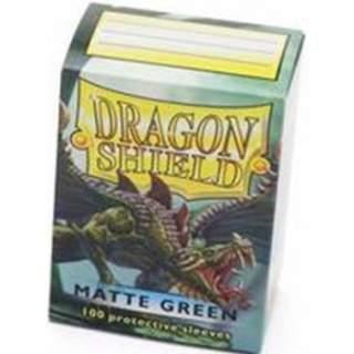 Koszulki Dragon Shield - 100 sztuk - Matte - Green