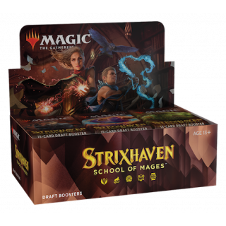 Strixhaven: School of Mages - Draft Boosters Box