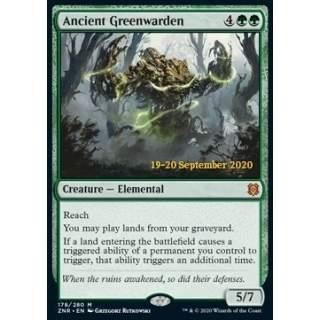 Ancient Greenwarden (V.2) - PROMO FOIL
