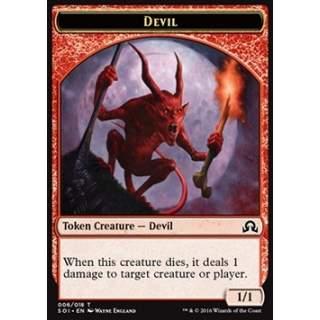 Devil Token (Red 1/1)