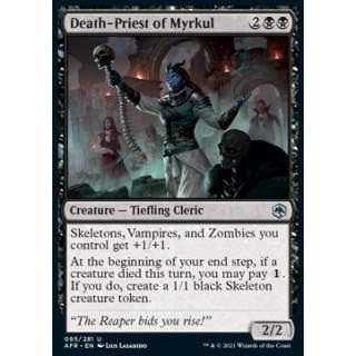 Death-Priest of Myrkul - FOIL