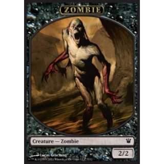 Zombie Token (Black 2/2) (V.1)