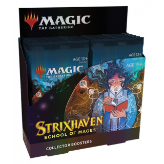 Strixhaven: School of Mages - Collector Boosters Box