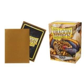 Koszulki Dragon Shield - 100 sztuk - Matte - Gold