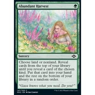 Abundant Harvest - FOIL