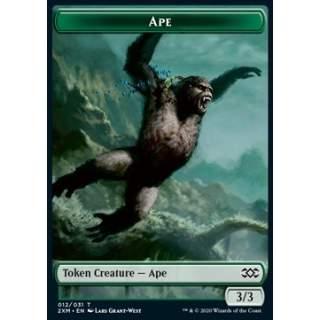 Ape Token (G 3/3) // Elemental Token (GW */*) - FOIL