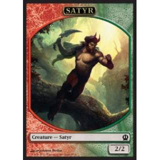 Satyr Token (Red and Green 2/2)
