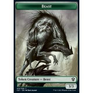 Beast Token (G 3/3) // Fish Token (U 3/3)