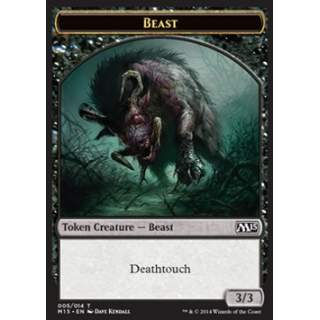 Beast Token (Black 3/3)
