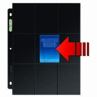 UP - Platinum - strona do segregatora (czarna) - 18 Pocket