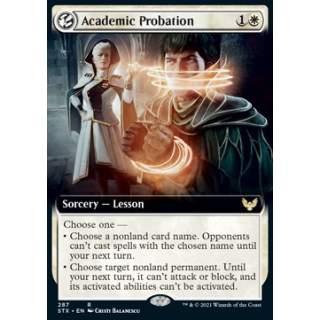 Academic Probation - PROMO FOIL