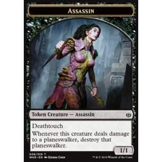 Assassin Token (Black 1/1 Deathtouch)