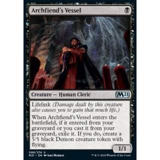 Archfiend's Vessel - FOIL