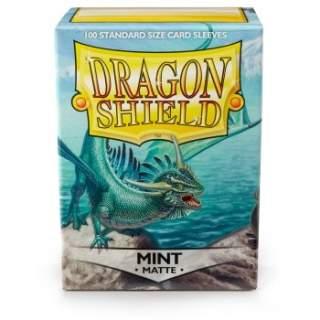 Koszulki Dragon Shield - 100 sztuk - Matte - Mint