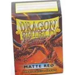 Koszulki Dragon Shield - 100 sztuk - Matte - Red