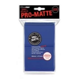 Koszulki Ultra Pro - 100 sztuk - Pro-Matte - Blue