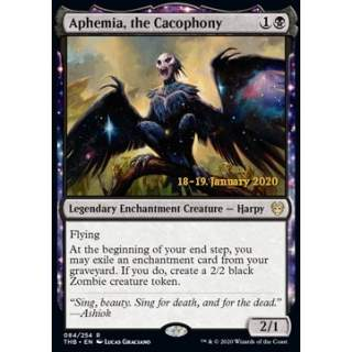 Aphemia, the Cacophony (Version 2) - PROMO FOIL