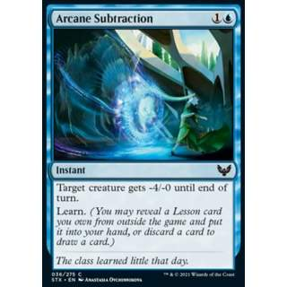 Arcane Subtraction
