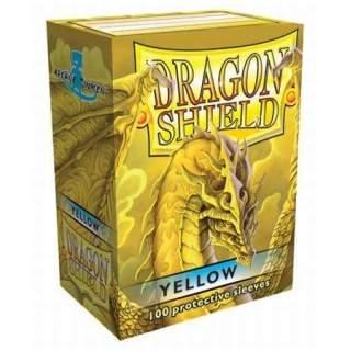 Koszulki Dragon Shield - 100 sztuk - Yellow
