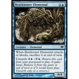 Brackwater Elemental - FOIL