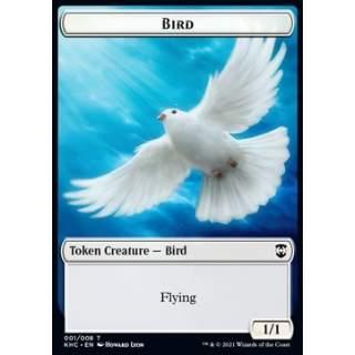 Bird Token (W 1/1) // Soldier Token (W 1/1)