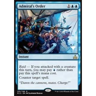 Admiral's Order - PROMO