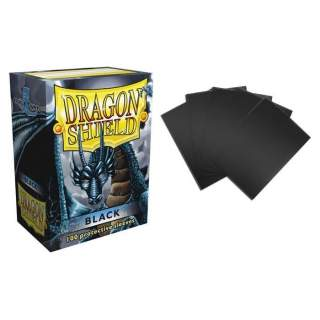 Koszulki Dragon Shield - 100 sztuk - Black