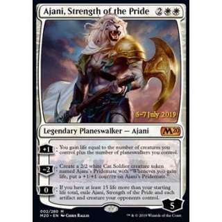 Ajani, Strength of the Pride (Version 2) - PROMO FOIL