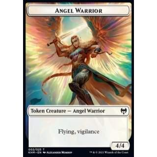 Angel Warrior Token (White 4/4 Vigilance)