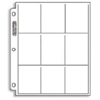 UP - Platinum - strona do segregatora - 9 Pocket