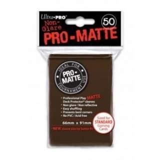 Koszulki Ultra Pro - 50 sztuk - Pro-Matte - Brown