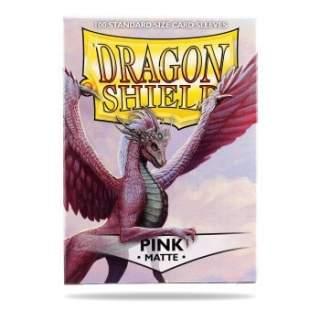 Koszulki Dragon Shield - 100 sztuk - Matte - Pink
