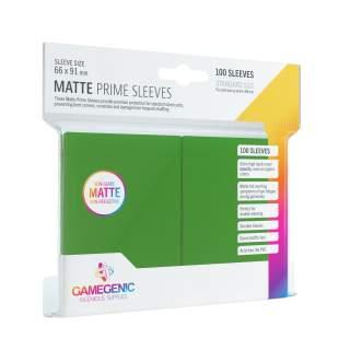 Gamegenic: Matte Prime - Green, 100 sztuk