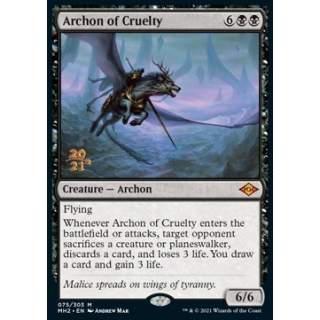 Archon of Cruelty - PROMO FOIL