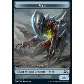 Myr Token (UA 2/1) // Ooze Token (G */*) - FOIL
