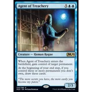 Agent of Treachery - FOIL