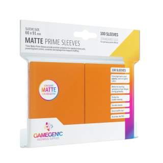 Gamegenic: Matte Prime - Orange, 100 sztuk