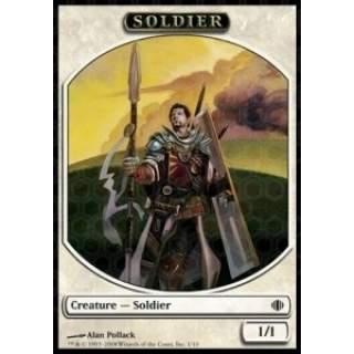 Soldier Token (White 1/1)