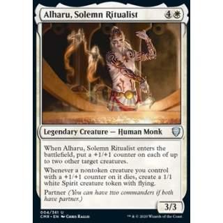 Alharu, Solemn Ritualist - FOIL