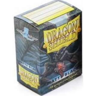 Koszulki Dragon Shield - 100 sztuk - Matte - Black